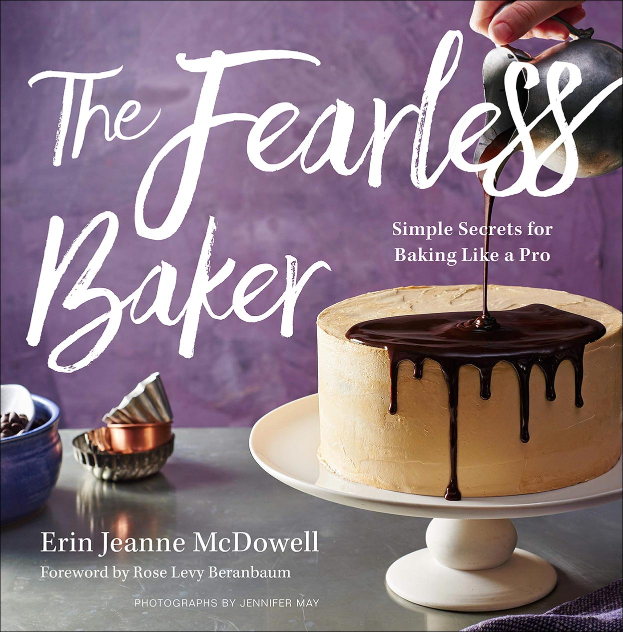 Fearless Baker baking cookbook Jennifer May Photography NY