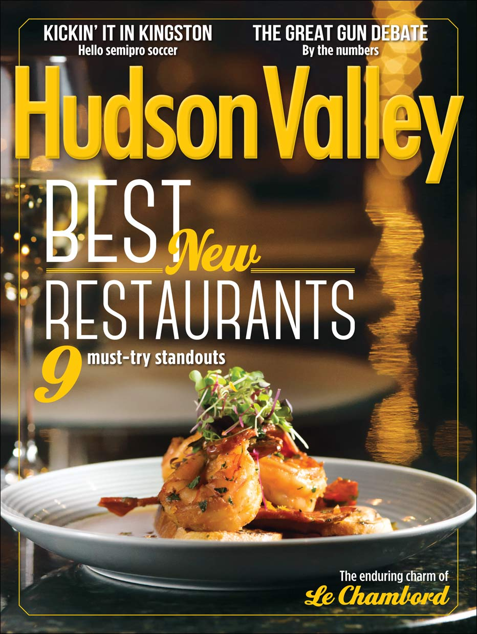 Hudson Valley Magazine cover by NYC food photographer Jennifer May