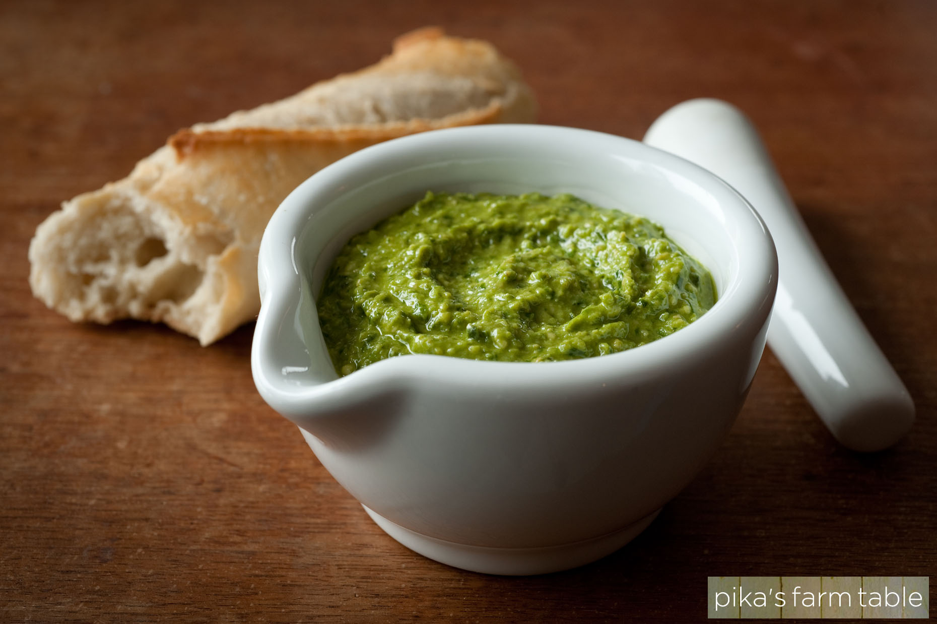 Advertising Photography Hudson Valley pesto