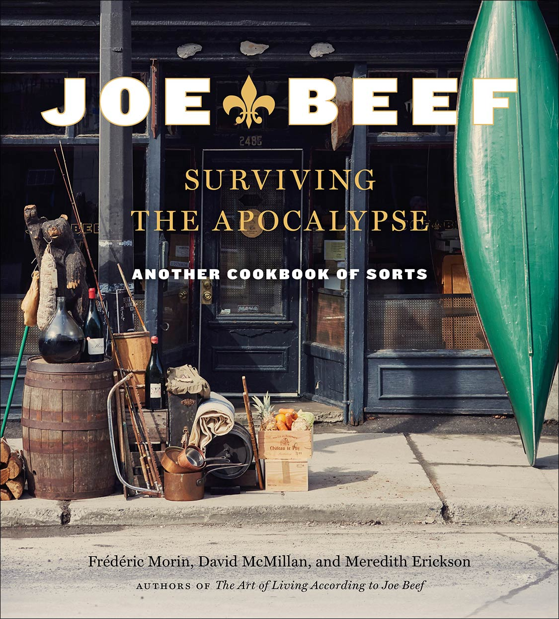 Joe Beef Surviving the Apocalypse photography by Jennifer May