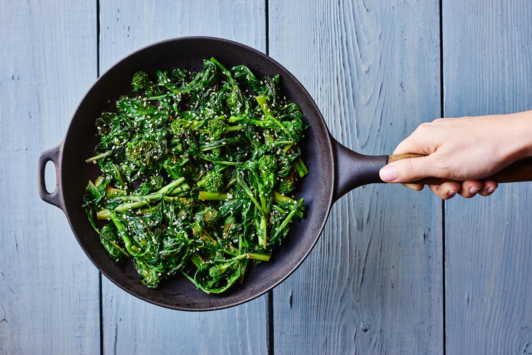Broccoli Rabe Social Media Campaign NYC Food Photography Jennifer May