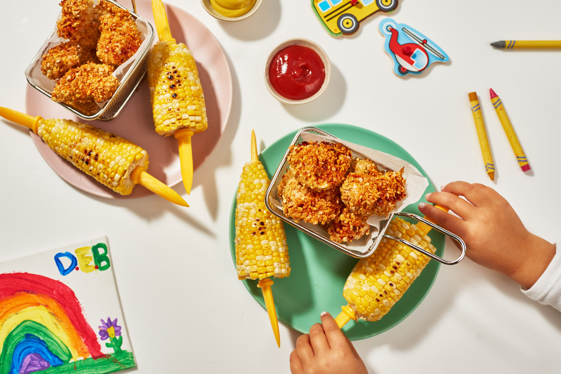 Kids Food Corn Photography Jennifer May Brooklyn
