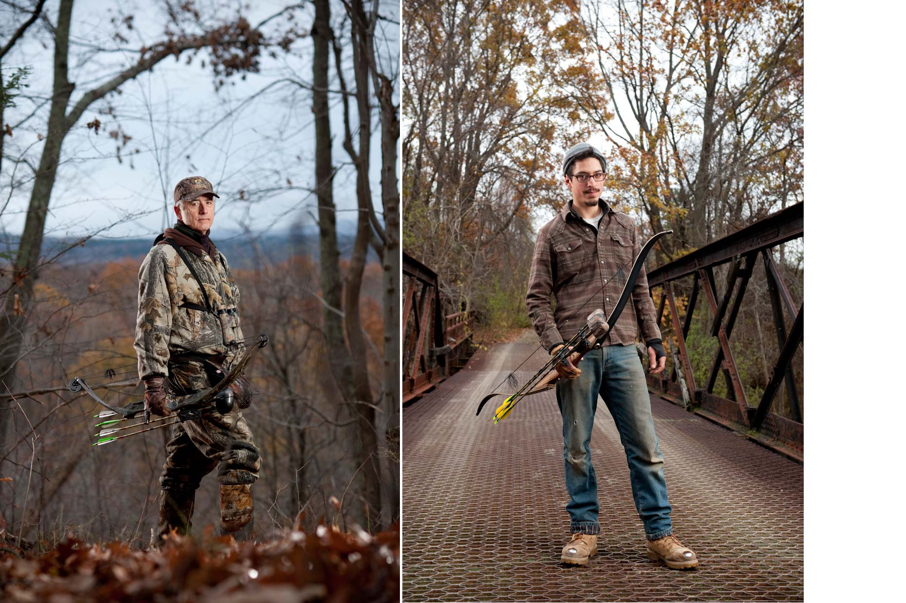 Jennifer May Photography Portraits Deer Hunters