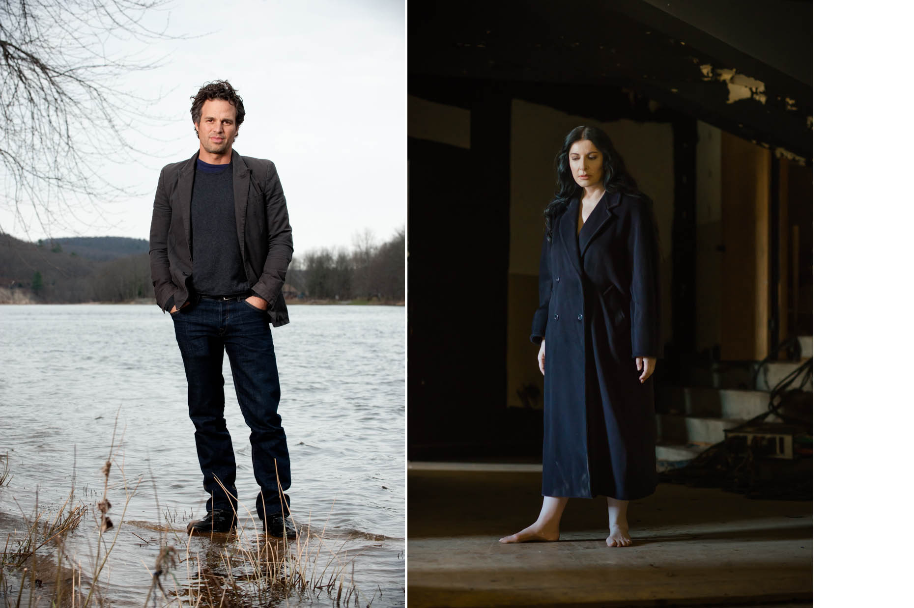 Marina Abramovic Mark Ruffalo Jennifer May Portraits