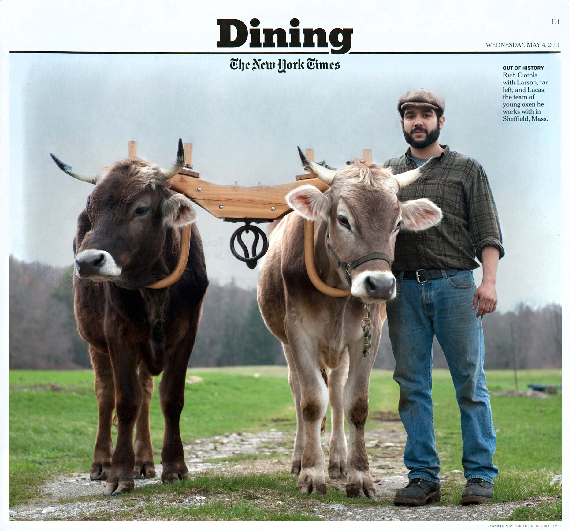 Food photographer Jennifer May NYT Farmer