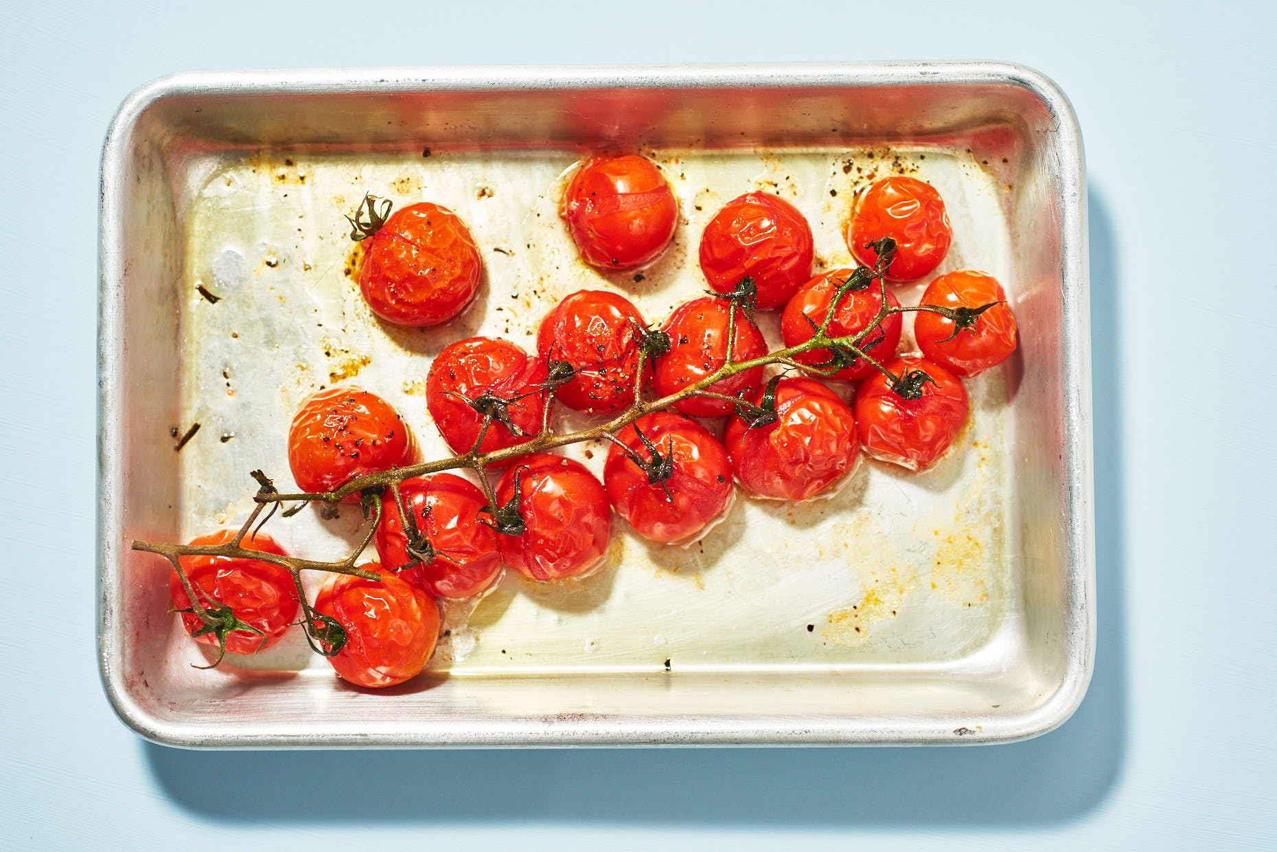 Roasted Cherry Tomatoes Jennifer May Food Photographer NYC