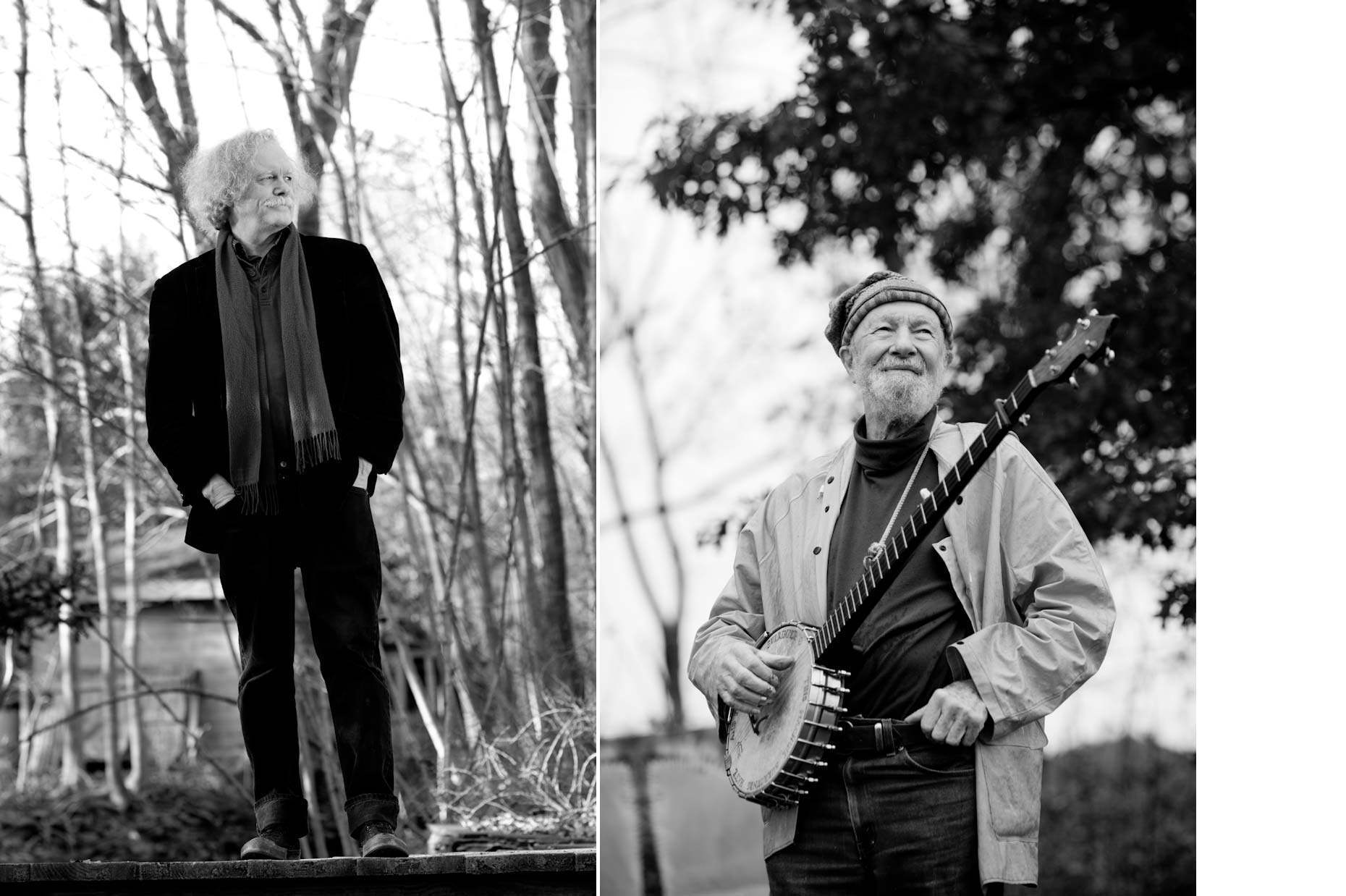 Jennifer May Photography Portraits Ed Sanders Pete Seeger